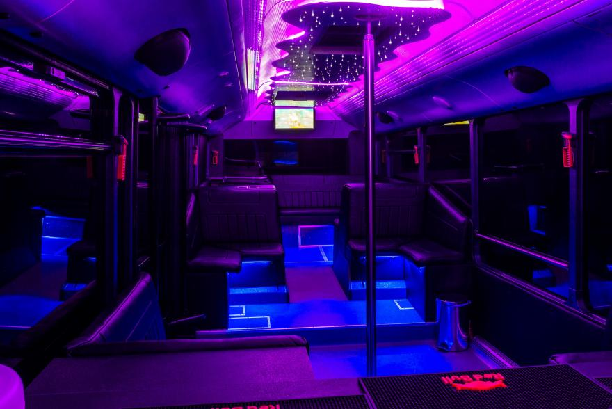 Neoplan partybusz belso kepek