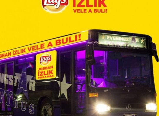 Lay's partybusz