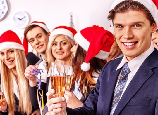 Karácsonyi céges buli