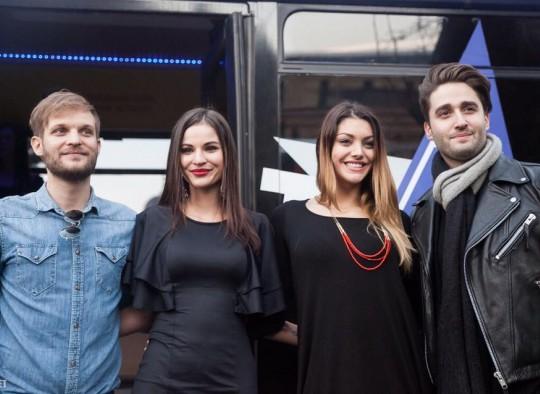 Sztárvendégek az Eveningstar Partybuszon