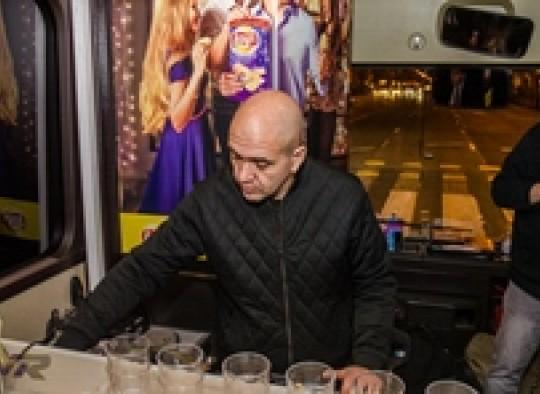 Partybusz musikkillers Lays promociós kampány